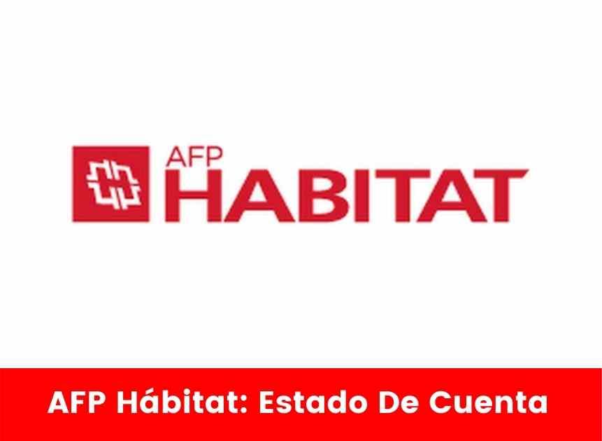 AFP Hábitat Estado De Cuenta