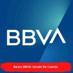 Banco BBVA: Estado De Cuenta