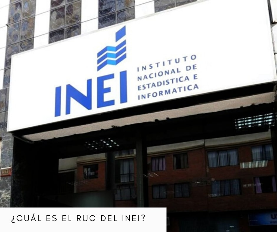 RUC del INEI