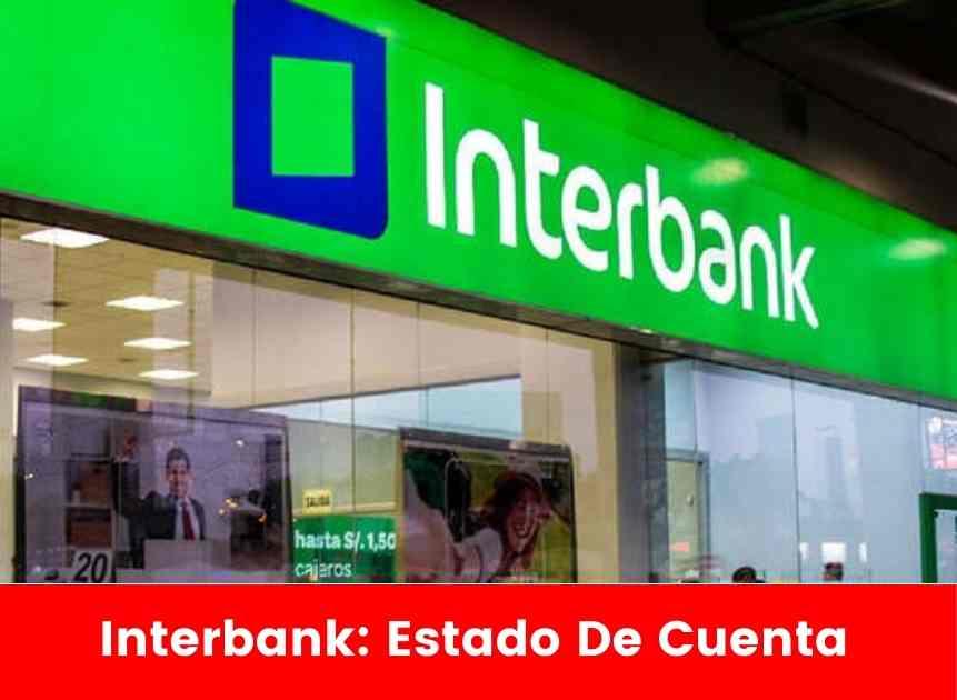 Interbank: Estado De Cuenta