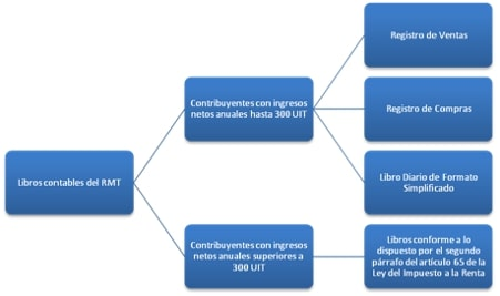 Libros contables del RMT