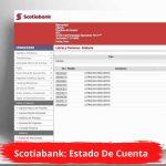 Scotiabank: Estado De Cuenta
