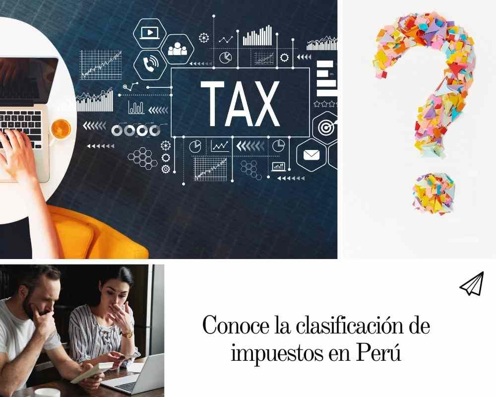 clasificación de impuestos en Perú