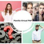 Qué es la planilla virtual PNP